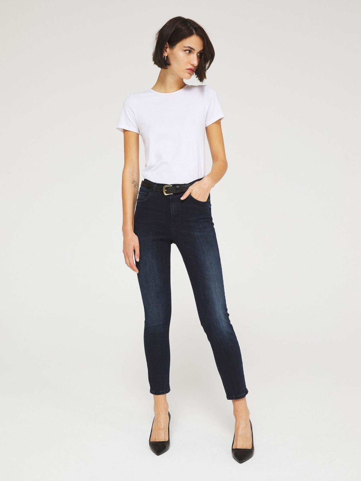 Jeans Skinny Fit Femme