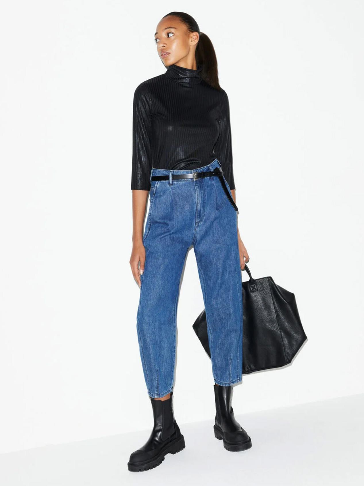 Jeans Barrel Leg Femme