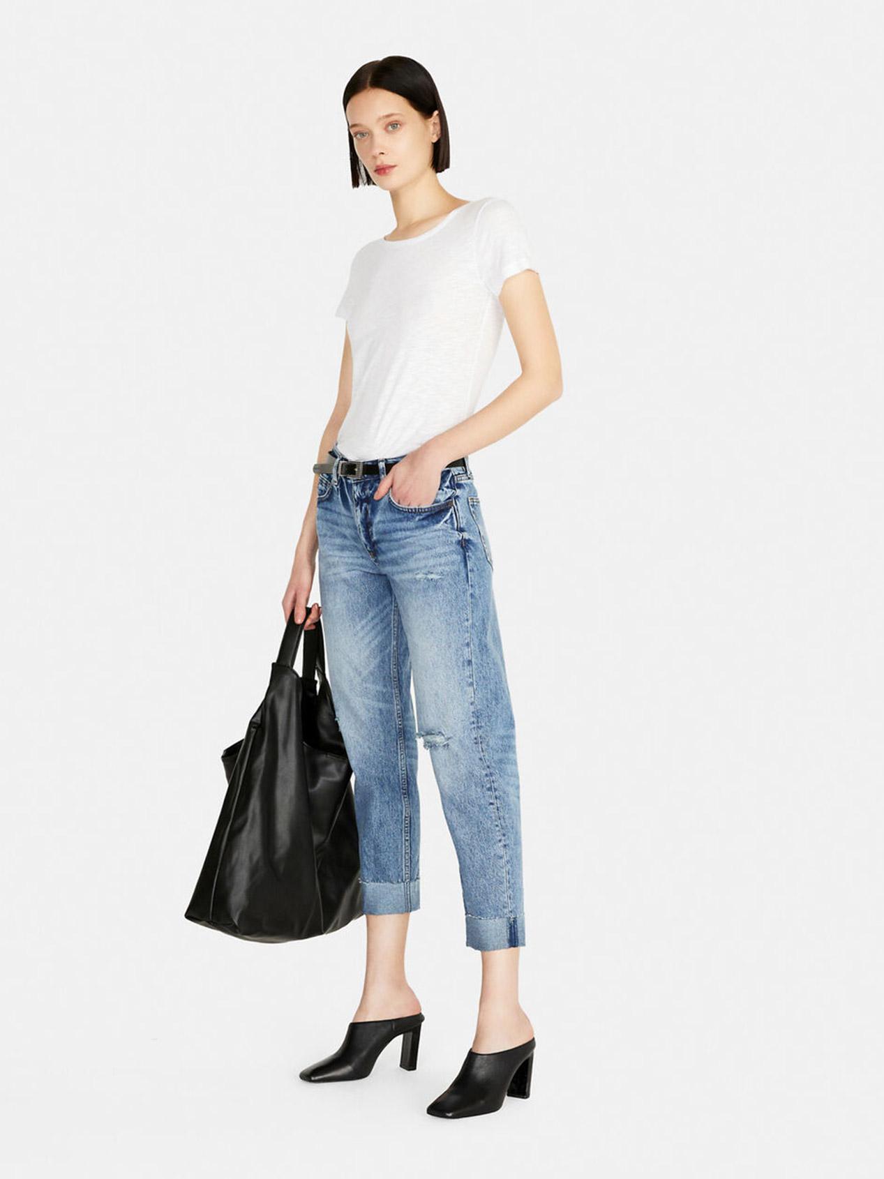 Jeans Carrot Fit Femme