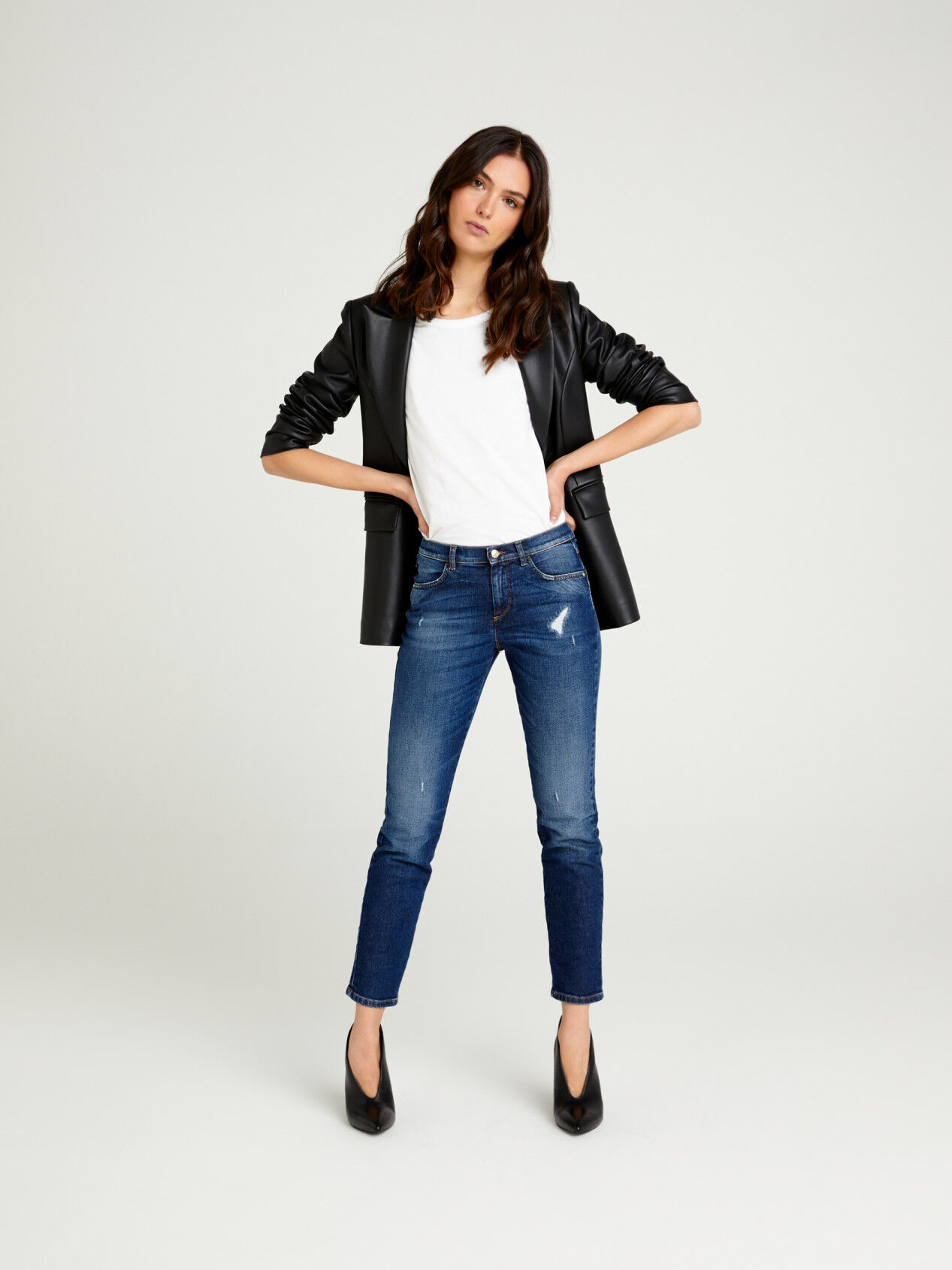 Jeans Slim Fit Femme