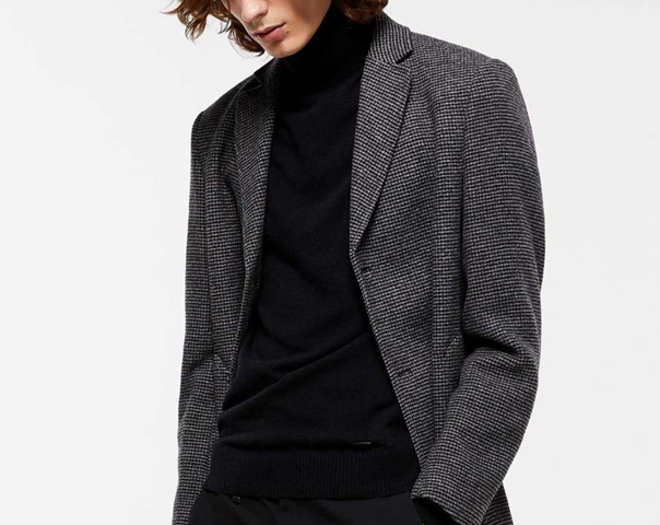 Manteau coupe slim