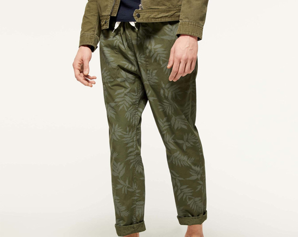 Pantalon réversible
