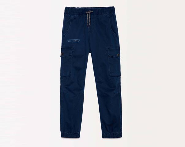 Pantalon cargo avec coulisse